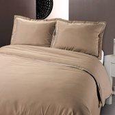 Hotel Bedding - Comfort - Taupe - Maat: 240 x 200/220