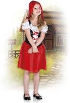 Kinderkostuum Hooded Rosy - 4-6 Jaar