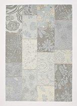 Chester vloerkleed - Licht grijs - 200x200 cm
