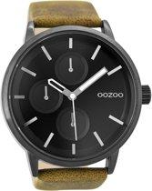 OOZOO Timepieces C9428 Camel Zwart 48mm