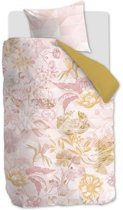 Oilily Geometric Garden - Dekbedovertrek - Eenpersoons - 140x200/220 cm + 1 kussensloop 60x70 cm - Pink