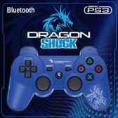 Dragon War Wireless PlayStation 3 Dragon Shock Bluetooth Controller - Blauw (PS3)