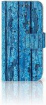 Sony Xperia XA | XA Dual Bookcase Wood Blue