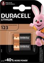 Duracell Ultra Photo CR123A - 2 stuks