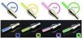 Firefly LED - Fietswielverlichting - Ventielbevestiging - Set van 2 - Geel