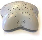 Pabobo - Sterrenprojector - Grey Forest - MET USB - Oplaadbare Sterrenprojector - Starsprojector - Babyprojector - Babykamer projector - Projector met muziek - Projectielamp van Pabobo - Oplaadbaar