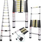 UltraToolz Telescopische ladder 9 treeds - Werkhoogte 2.6m