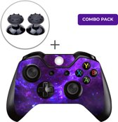 Dark Galaxy Combo Pack - Xbox One Controller Skins Stickers + Thumb Grips