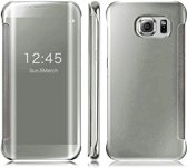 Clear View Cover voor Samsung Galaxy S7 Edge– Zilver