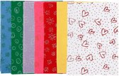 Hobbyvilt, A4 21x30 cm, dikte 1 mm, 70 vellen, kleuren assorti