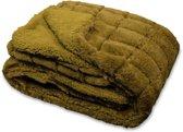 Unique Living Xavi - Fleece plaid - 130x160 cm - Lizzard