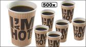 500x Koffiebeker I am Hot 180cc