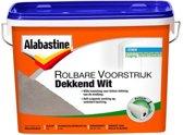 Alabastine Rolbare Voorstrijk Dekkend Wit 5L