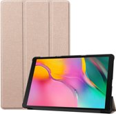 Samsung Galaxy Tab A 10.1 (2019) Hoesje Book Case Hoes Cover – Goud