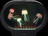desktop kwallen aquarium - ovale vorm (snoezelen)