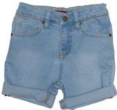 Ebbe - jongens korte broek - model Barco - denim - blauw