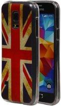 Samsung Galaxy S5 mini Hoesje Britse Vlag TPU UK