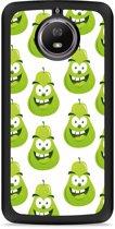 Moto G5S Hardcase Hoesje Happy Peer