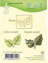LeCrea - Doodle stempel Leaves 55.2427