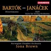 Bartok: Divertimento; Janacek: Idyll, etc / Brown