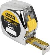 Stanley Rolbandmaat Powerlock 8m 25mm