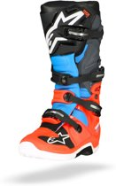 best sneakers 8d686 8384f Alpinestars Crosslaarzen Tech 7 Fluor RedCyanGrayBlack-49.5 (EU