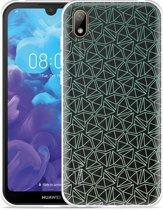Huawei y5 2019 Hoesje Triangles