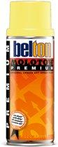 Molotow Belton Premium Neon Geel - 400ml spuitverf met halfglans afwerking