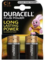 Duracell Plus Power Duralock C alkaline 2x Mn1400 LR14