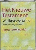 Bijbel het Nieuwe Testament / Willibrordvertaling 1992 / deel grote letter editie