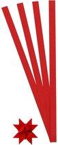 Vlechtstroken, b: 10 mm, d: 4,5 cm, rood, 100stroken