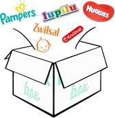 Proef  luier box van 8 luier merken / Luier babybox / maat 2 (3-8kg) / kraamcadeau