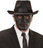 Zwart anoniem masker voor volwassenen - Verkleedmasker
