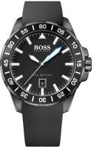 Hugo Boss Black Deep Ocean Giftset HB1513229 - Horloge + Parfum - Siliconen - Zwart - 46mm
