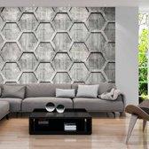 Fotobehang - Platinum cubes