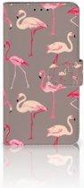 Huawei Honor 6X Uniek Boekhoesje Flamingo