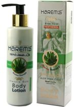 Harems Aloe vera extract body lotion