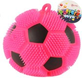 Toi-toys Pufferbal Voetbal Roze 13 Cm