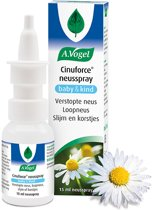 A.Vogel Cinuforce Neusspray baby - 15 ml - 1 stuk