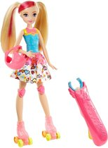 Barbie Videogames Tienerpop Met Ingebouwd Spel Roze 33 Cm