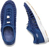 Keen Uneek O2 W-Estate Blue-Harvest Gold Sandalen Dames Size : 37