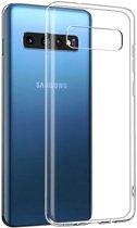 Samsung Galaxy S10 hoesje - CaseBoutique - Transparant - TPU