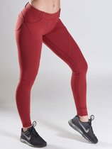 Legging Tight - Burgundy - L