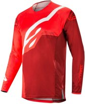 Alpinestars Crossshirt Techstar Factory Red/Burgundy-S