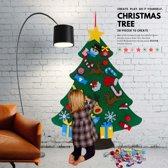 Orange Heroes Kerstboom voor kinderen van vilt met 28 decoratieve klittenband speelgoed figuurtjes voor aan de wand - Muur Kerstboom - Kunstkerstbomen - Kerstdecoratie Binnen - Etalage Decoratie - Kinder Kerstboom - Kerstcadeau