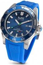 Tutti Milano  TM901BL- Horloge - 48 mm - Blauw - Collectie Corallo