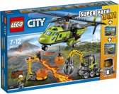 LEGO City Vulkaan 3-in-1 Super Pack (66540)