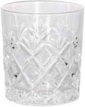 Whiskey Glazen - 6 stuks - Klassiek - 75 x 85 x mm