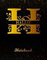 Hallie Notebook