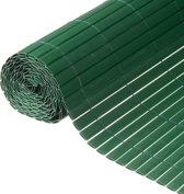 Nature - Tuinscherm - PVC - Dubbelwandig - Groen - 1,2 x 3m